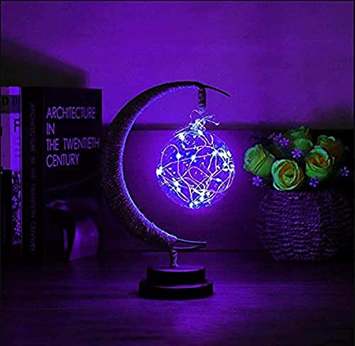 2021 New The Enchanted Lunar Lamp - LED Moon Lamp Kids Night Light Galaxy Lamp, Hanging Moon Lamp Magic Moon Night Light, Remembrance Gift for Home Decorations