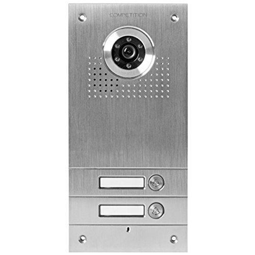 AE SAC563C-CK(2) Farb-Videotürsprechanlage 2 Familien, 5 V