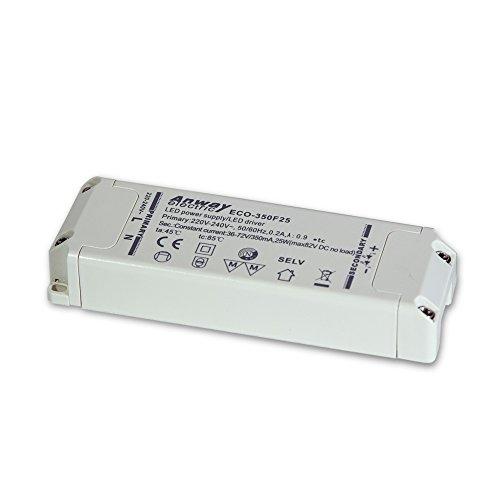 ANWAY LED Treiber ECO-350F25 25W/350mA/36-72V