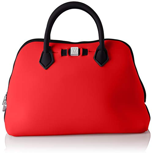 Save My Bag Damen Princess Midi Handtasche, Rot (Red Cobalt), 36x26x16 Centimeters