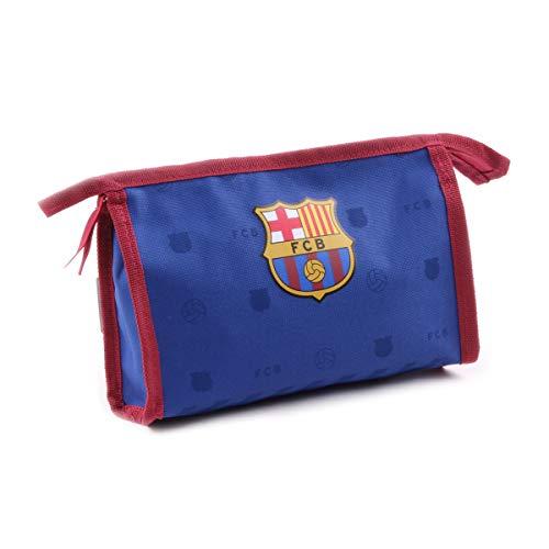 FC Barcelona [Q1927] - Trousse de Toilette 'FC Barcelona' Bleu Rouge - 23x15x7 cm