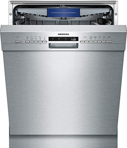 Siemens iQ300sn435s00me Semi integrierter 14places A + + Spülmaschine–Geschirrspülmaschinen (Semi Integriert, silber, Full Size (60cm), silber, Knöpfe, 1,75m)