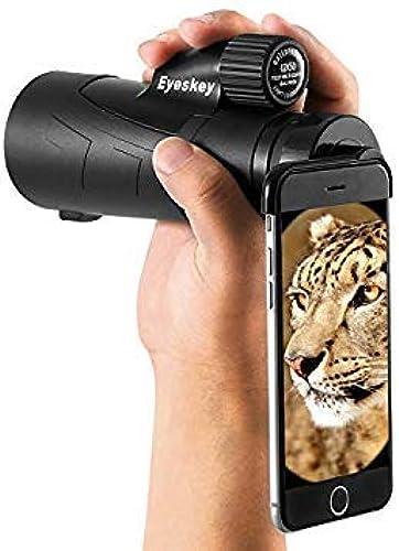 GEOPONICS 1550 HD télescope monoculaire BAK4 Prism FMC revêtement Poche étanche pour Adultes Caméra téléphone