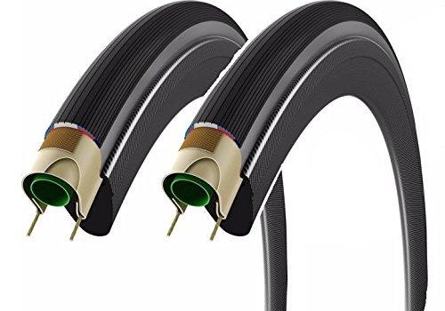 2本セット Vittoria ヴィットリア CORSA コルサ クリンチャータイヤ700c グレーサイド Clincher Tire (700×...