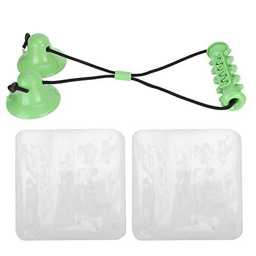 COHU Juguete para la dentición del Perro, Juguetes Suaves y cómodos para la dentición del Cachorro para el Cuidado bucal(Green)