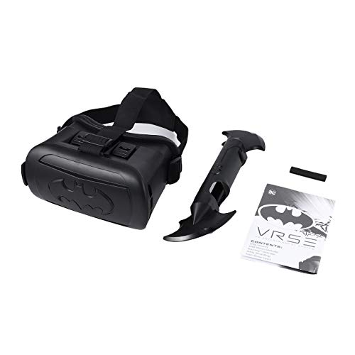 FYstar Batman VR Spielbrille Virtual Reality Set Harrowing 360˚ Grafik IR Controller VR Headset Endless Mode Schwarz