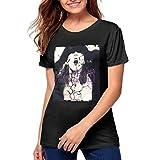 JXSRS - SRTS Womens Liz Phair T Shirts Short Sleeve Tee Shirt Black