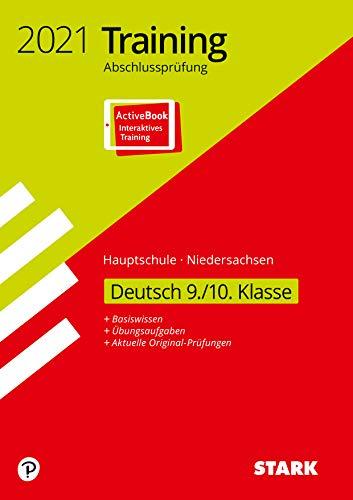 STARK Training Abschlussprüfung Hauptschule 2021 - Deutsch 9./10. Klasse - Niedersachsen: Ausgabe mit ActiveBook