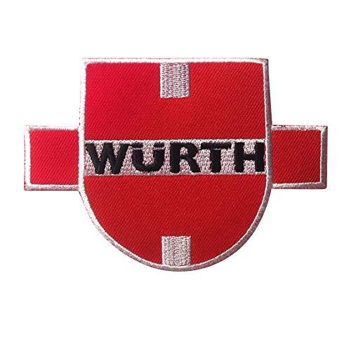 WURTH Racing Champion parche patch bordado con logotipo para planchar de hierro en apliques de recuerdo de accesorios ✅