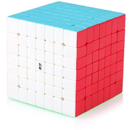 Cubo Magico 7x7 7x7x7 Speed Cube Puzzle Cubo de la Velocidad Niños Juguetes Educativos, Stickerless