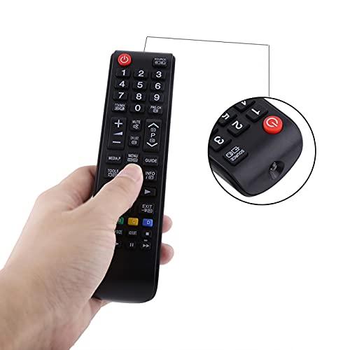 Emoshayoga Reemplazo del Control Remoto Universal de la televisión Compatible con Samsung HDTV LED