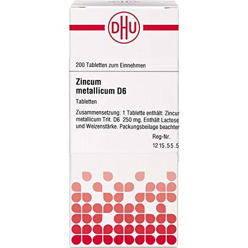 DHU Zincum metallicum D6 Tabletten, 200 St. Tabletten