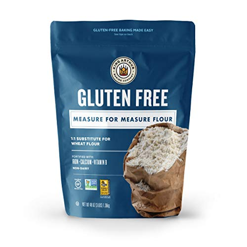 King Arthur Flour, Measure for Measure Flour, Certified Gluten-Free, Non-GMO Project Verified, Certified Kosher, 3 Pounds (Packaging May Vary)