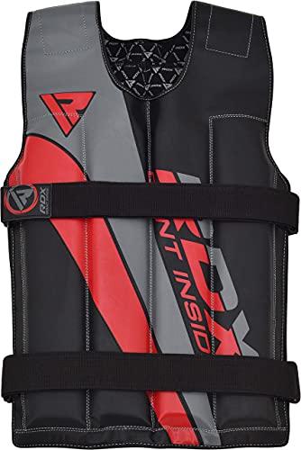 RDX Gilet Pesi Allenamento Giubbotto Zavorrato Palestra Peso Giacca Weighted Vest