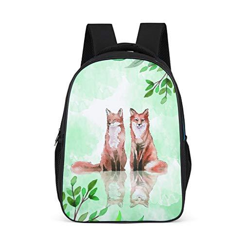 Lind8 2 Foxes - Mochila para niños (diseño de zorros),