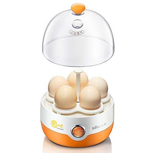 LSQ Startseite kleine Elektro-Ei-Kocher, automatische Abschaltung Mini gedämpft Ei einschichtigen Multi-Funktions-Edelstahl Frühstück Maschine