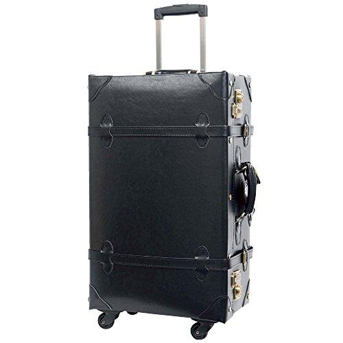 L型 ブラック/CHOCOLAT(ショコラ) TSAロック搭載 トランクケース 超軽量 大型