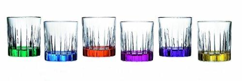Rcr Set 6 Bicchieri Liquore Timless
