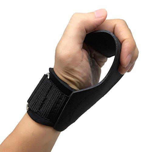 [ALPHA-COMFORT] パワーグリップPRO 引き裂き強度600kg 特殊ノンスリップラバー素材 握力補助 筋肉を極限...