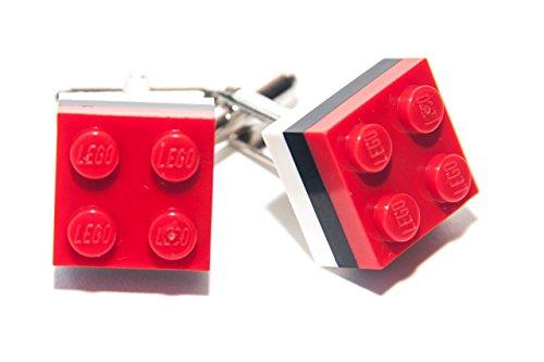 Briques Lego Podmoskovye Union Football Club de rugby Club Couleurs Ensemble de boutons de manchette