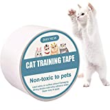 Protector de Muebles Gatos, Anti-Scratch Cat Training Tape, Sof Protector...