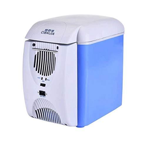 LYN Mini-koelkast Cooler & Warmte, capaciteit 7,5 l compact, draagbaar en stil wisselstroom