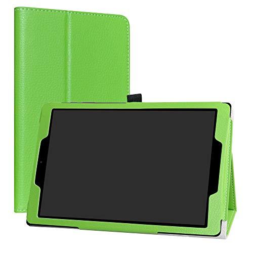 Labanema CHUWI HiPad Custodia, PU Pelle Slim Flip Case Cover Protettiva Pieghevole Stand per CHUWI HiPad 10,1 Pollici Tablet - Verde