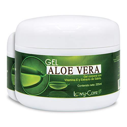 Gel Aloe Vera 100 Puro  marca Lovy Care