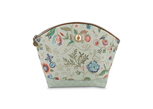 Cosmetic Bag Large Spring to Life Celadon