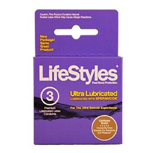 Life Style Ultra Lubricated With Spermicide (BIRTH CONTROL)
