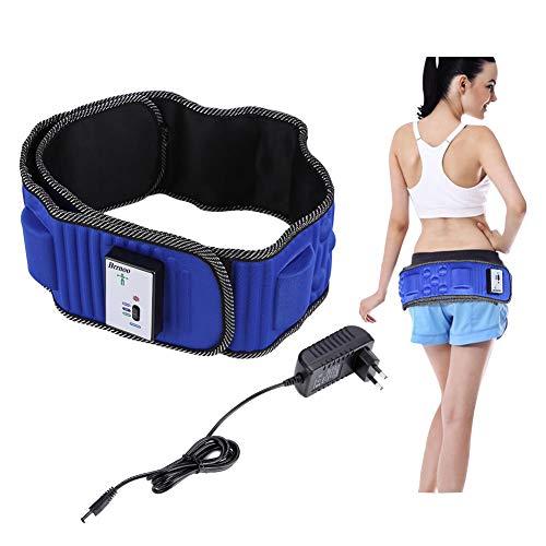 Elektrische vibrierende Taille Massage mit 5 Motoren, Elektrische Taillenmassage Elektrische Vibration Gewichtsverlust Massage Bauch abnehmen Fitness-Massagegürtel, Natürliche Abnehmen Fett Bauch