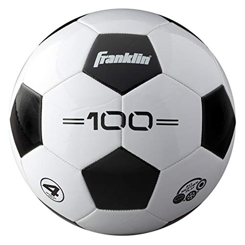 Franklin Sports Soccer Balls - Size 4 F-100 Soccer Balls - Youth Soccer Ball
