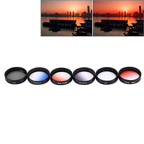 Fotocamera filtro colore con interna ed estera filettatura arancione per 67mm filettatura obiettivo