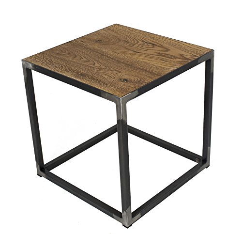 Spinder Design John Table d'appoint en chêne 40 x 40 x 40 cm