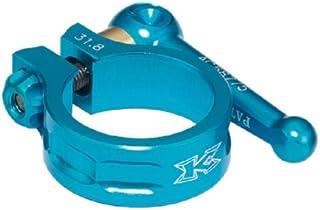 KCNC SC10 QR Clamp SeatPost 31.8 mm 7075 AL 6/4 Ti axle Blue Road Bike MTB