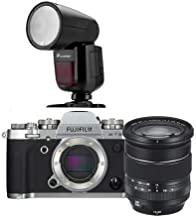$1899 » Fujifilm X-T3 Mirrorless Digital Camera with XF 16-80mm F4.0 R OIS WR Lens, Silver - with Flashpoint Zoom Li-on X R2 TTL On-Camera Round Flash Speedlight for Fuji (V1)