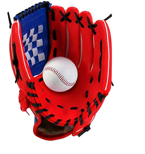 Wonninek 11,5 Zoll Baseballhandschuh Soft Solid PU Leder Verdickungskrug Softballhandschuhe für Kinder Teenager Adult Professional Baseball Mitt Catching