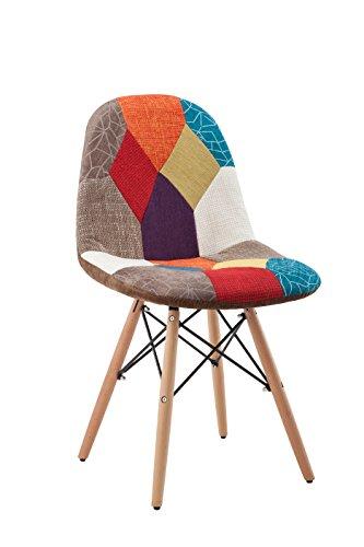 """Hodedah Patchwork Studio Chair, 1"""", Bronze"""