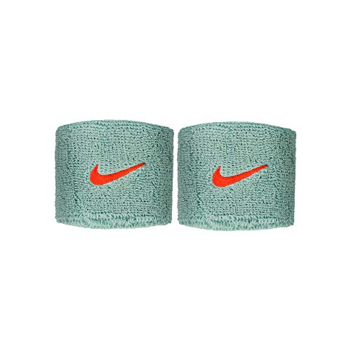 Nike Muñequera Unisex para Adultos, Color Verde, Talla única