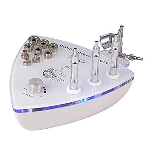 La microdermoabrasión profesional de la máquina, 2 en 1 diamante dermoabrasión máquina, Cuidado de la piel facial Equipo aerosol de agua Dispositivo Exfoliación de belleza para uso en el hogar