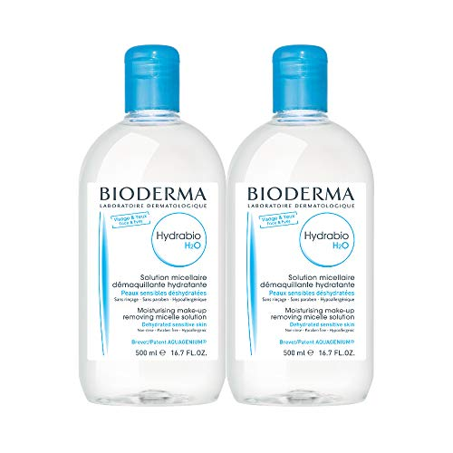 Bioderma Hydrabio H2O Hydrating Micellar Cleansing Water and Makeup Removing Solution