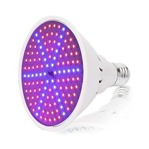 QFF Energy Saving LED Plant Light Bulb Plant Grow Fill Light Lamp E27 Lamp Holder Full Spectrum Winter Rainy Season Night Indoor Home