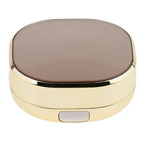 SM SunniMix Maquillage Vide Luxueux Bricolage Crème Air Cushion Case Face Cream Box Avec Puff - B