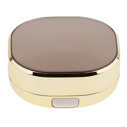 harayaa 2Color Luftkissen BB Cream DIY Leere Hülle mit Sponge Puff Makeup Container - b