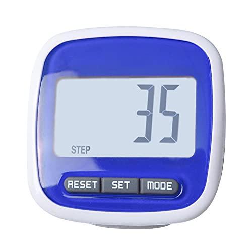 Lewpox Schrittzähler,Einfache Pedometer mit Clip,Schrittzähler Tracker,Testsieger Schritt/Distanz/Kalorien/Zähler Counter Fitness Tracker