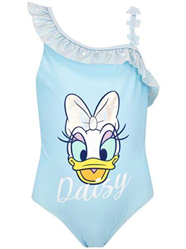 Disney Costume da Bagno per Ragazze Daisy Duck Blu 4-5 Anni