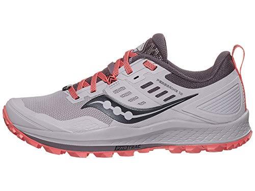 Saucony Women's Peregrine 10 Trail Running Shoe, Dusk, 7.5 M US