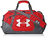 Under Armour Undeniable Duffle 3.0 Gym Bag, Red (600)/Silver, Small