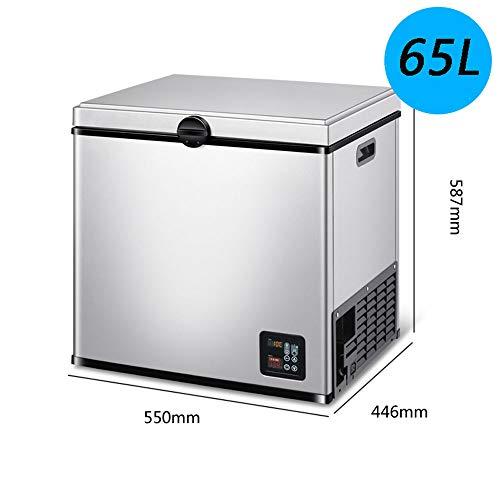 HXPH Auto Kühlschrank Kompressor Kälte Auto Dual-Use-12V / 24V Auto gefroren kleine kleine Gefriertruhe Camping, Angeln (35L / 45L / 65L