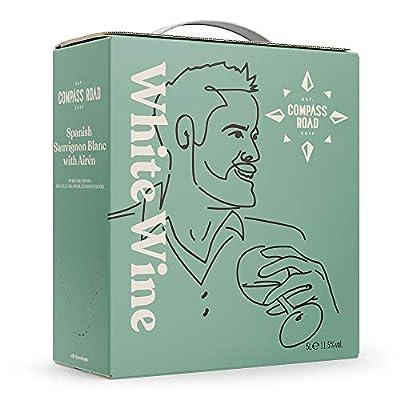 Amazon Brand - Compass Road Sauvignon Blanc with Airén, Spain (Bag in Box), 5L